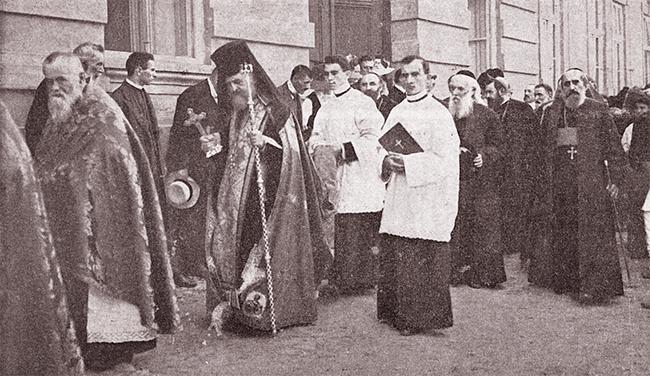 Blaj 1911 SERBĂRILE DE LA BLAJ 1911 Reîntoarcerea de la cimitir