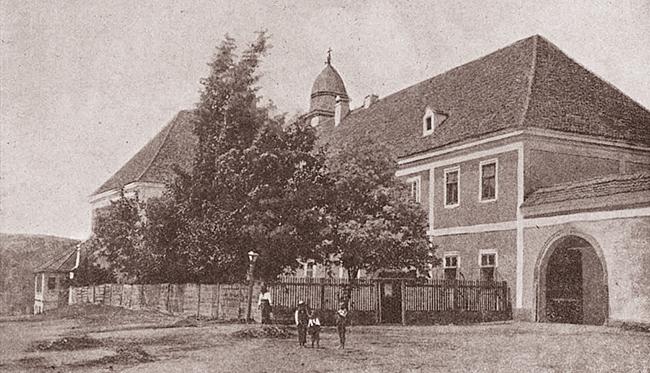 Blaj 1911 SERBĂRILE DE LA BLAJ 1911 Vechea reședință metropolitană