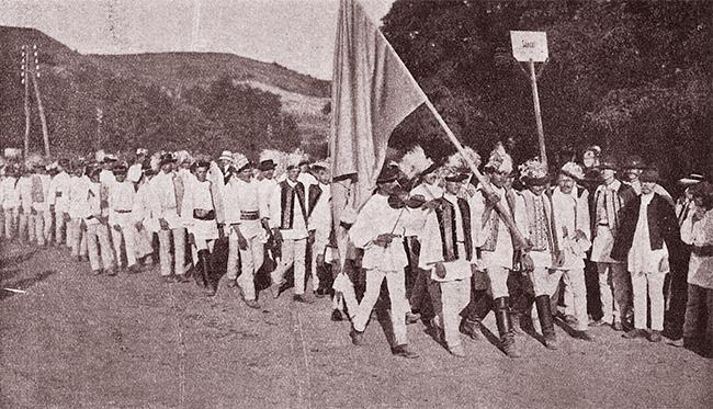 Blaj 1911 SERBĂRILE DE LA BLAJ 1911 Conductul etnografic