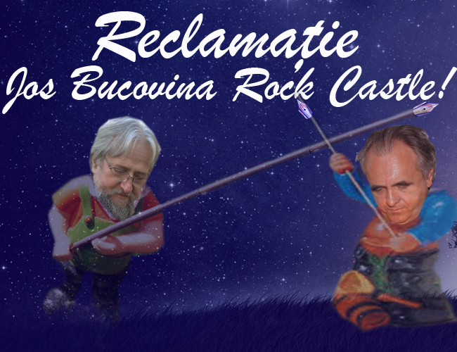 Blanaru vs Bucovina Rock Castle