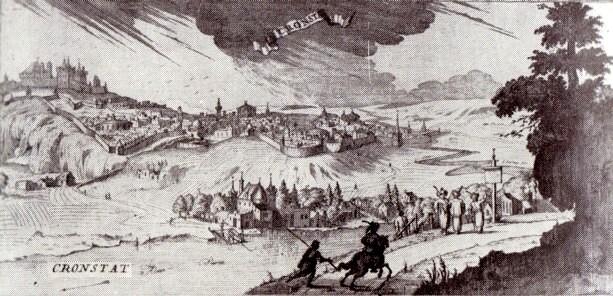 Braşov, pe la anul 1600