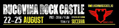 Bucovina Rock Castle 2013 sigla