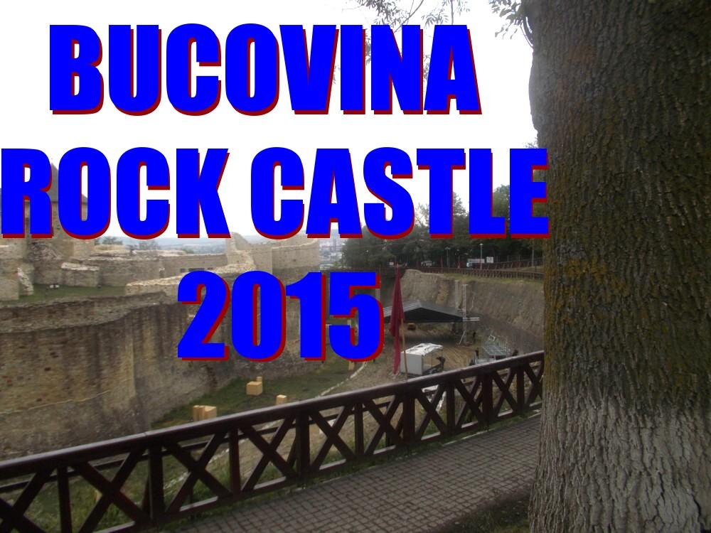 Montarea scenei BUCOVINA ROCK CASTLE