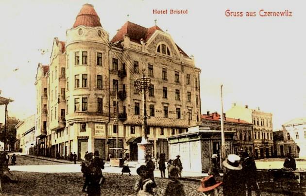 Bucovineni Cernauti hotel Bristol