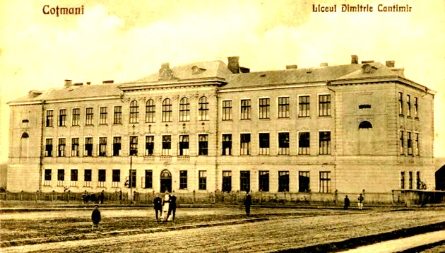 Bucovineni Cotmani liceul