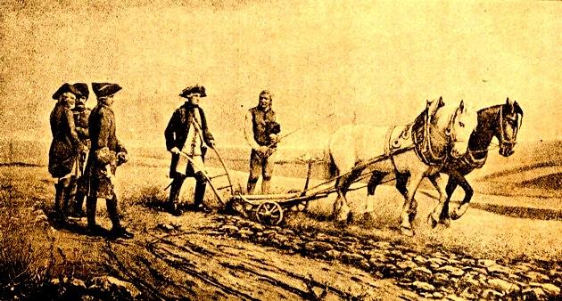 Iosif al II-lea, trăgând brazda reformei agrare din 1785