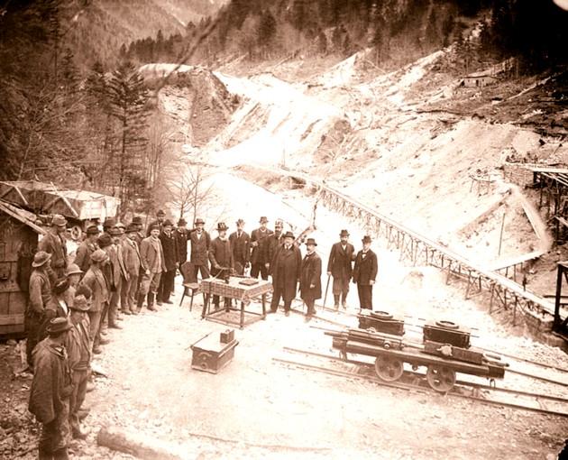 Bucovineni Mestecanis tunel 2