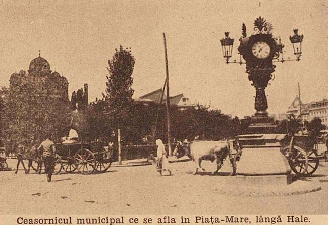 București Ceasornicul din Piața Mare