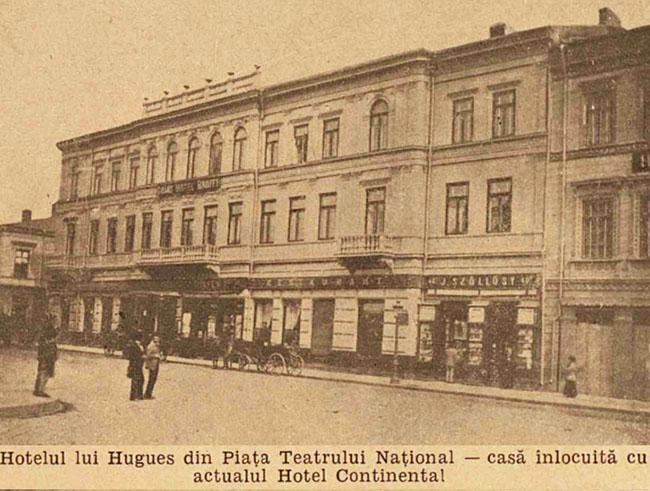 București Hotelul Hugues
