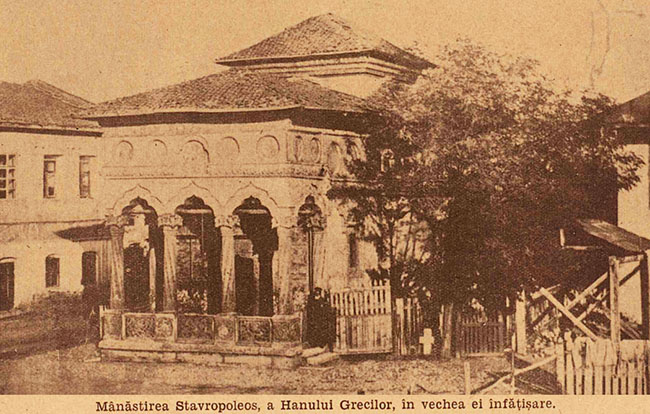 București Mănăstirea Stavropoleus