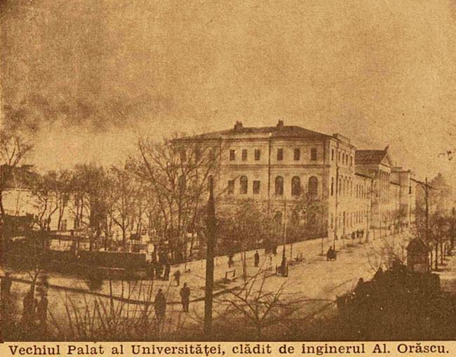 București Palatul Universității