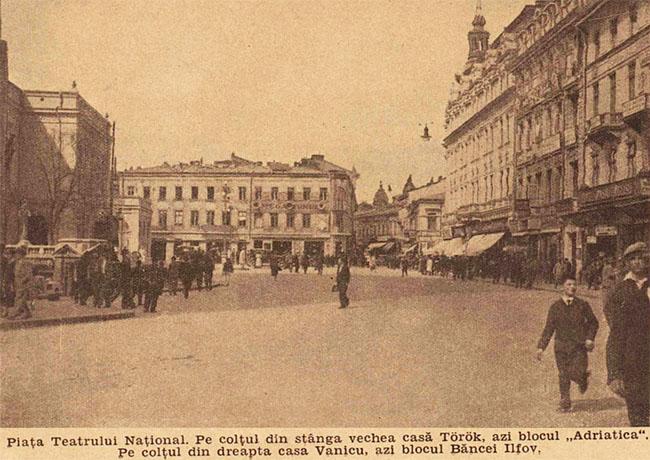 București Piața Teatrului Național