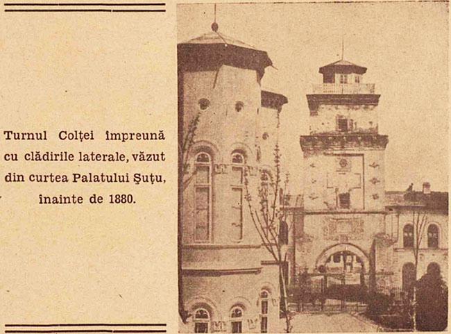 București Turnul Colței 1880