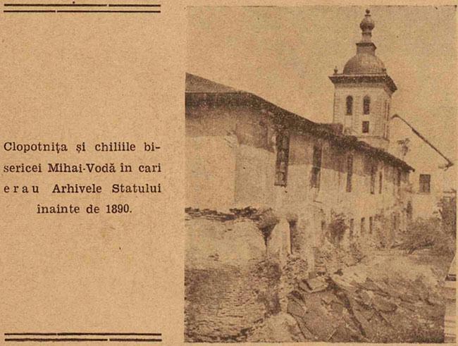 București biserica Mihai Vodă