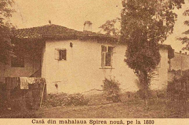 București mahalaua Spirea Nouă 1880