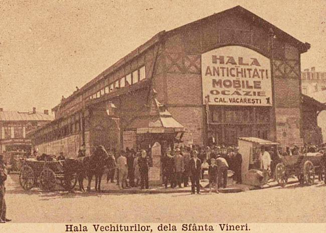 București Hala vechiturilor
