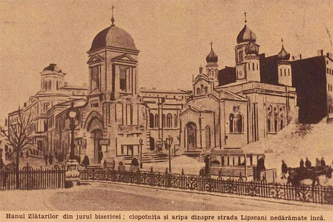 București Hanul Zlătarilor