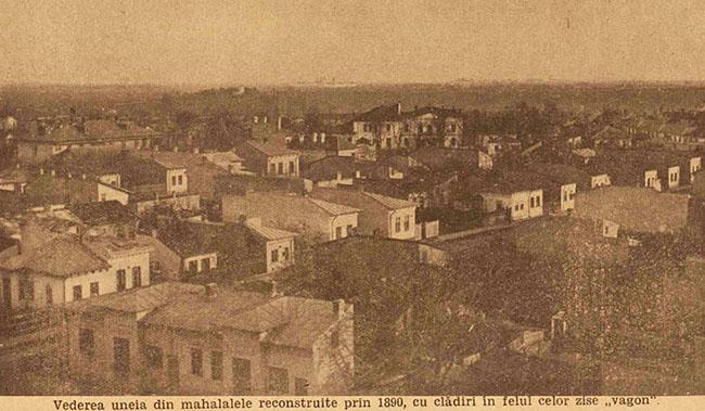 București Mahala după 1890