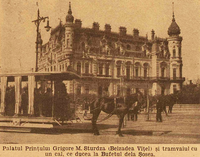 București Palatul Sturdza