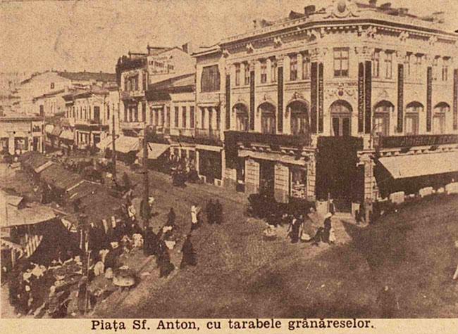 București Piața Sf Anton