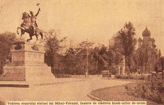 București Statuia lui Mihai Viteazul