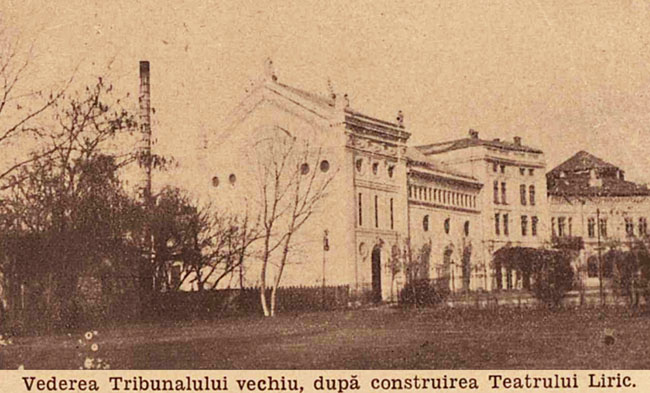 București Tribunalul vechi