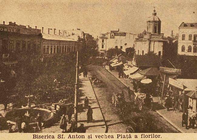 București biserica Sf Anton din Piata Florilor