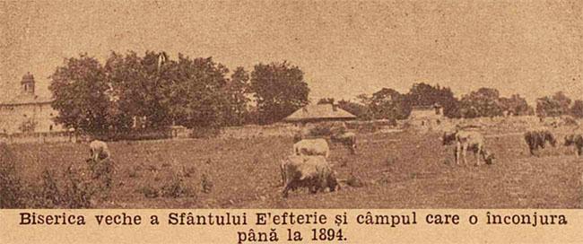 București biserica Sf Elefterie 1894