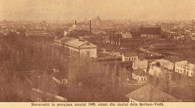 București panoramă din 1906