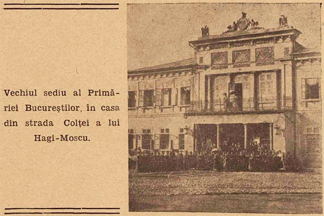 București vechea Primărie