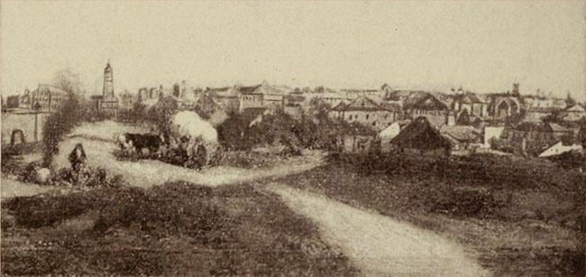 Bucureştii, la sfârşitul secolului XVIII