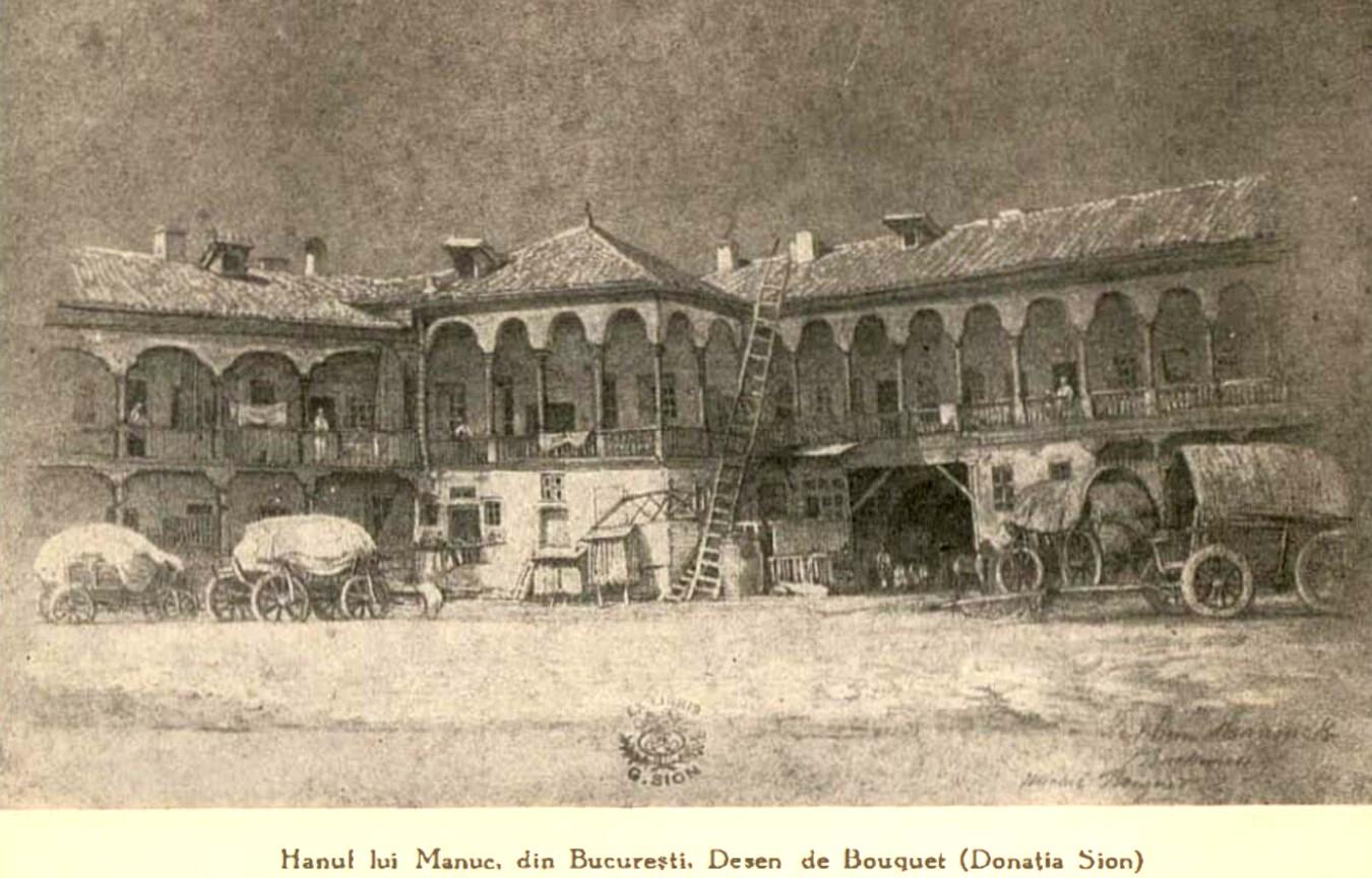 Bucuresti Hanul lui Manuc BOABE DE GRAU 1930 n 5 p 299