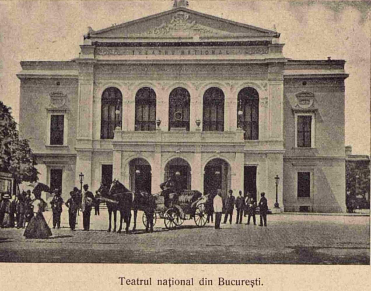 Bucuresti Teatrul National LUCEAFARUL n 21 1908 p 502