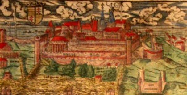 """Budapeste, în """"Cosmographia"""" lui Münster"""