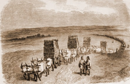 Caravană moldovenească – Anatole de Demidoff (1813-1870)