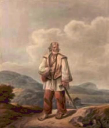 Huţan din Ţibău – de Franz Jaschke (1775-1842)