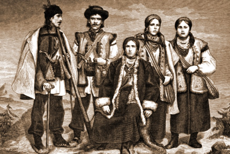 Familie de huţuli