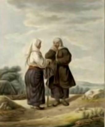 Femei din Iacobeni, în 1805 – de Franz Jaschke