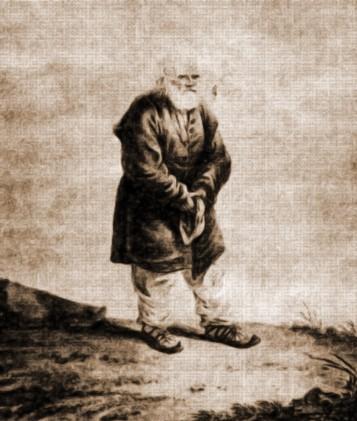 Pentelei Ungurian, un om de 105 ani din Iacobeni – acuarelă de Franz Jaschke (1775-1842)