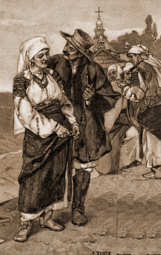 Port din Boian – de Julius Zalaty Zuber (1867-1918)