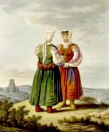 Filipovence, în 1810 – de Franz Jaschke (1775-1842)