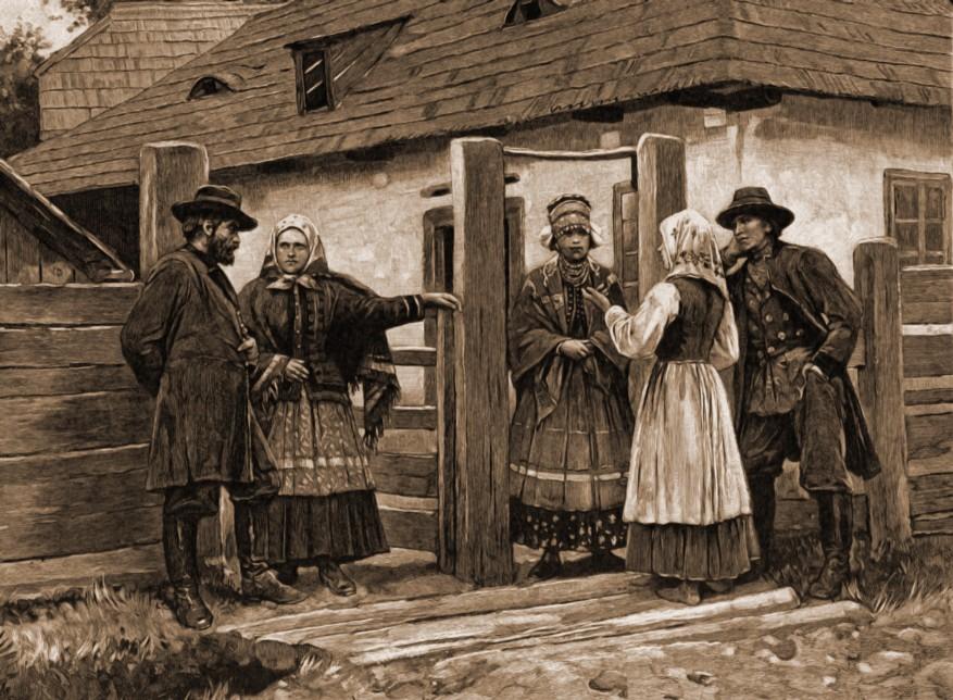 Grup de lipoveni – de Mattias Adolf Charlemont (1820-1871)