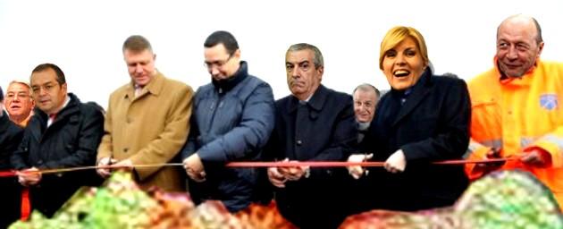 Traian Băsescu: Măăă, să nu furaţi la măsurătoare şi să vă atingeţi de jumătatea mea!