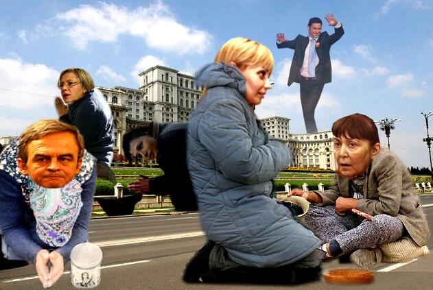 Fiecare candidat pentru Europa: În numele Domnului, dă-mi un vot, ca să-mi iau o pâine!...