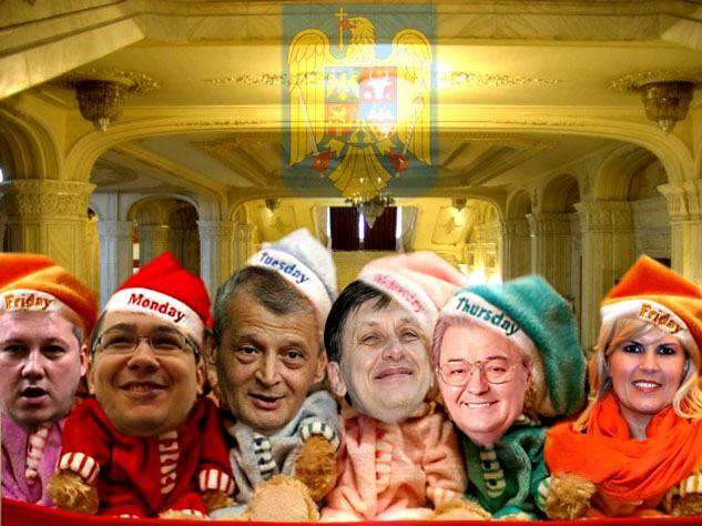 Elena Udrea: Zeus a spus că e timpul ca România să fie condusă de o femeie! Crin Antonescu: E clar: de mine!