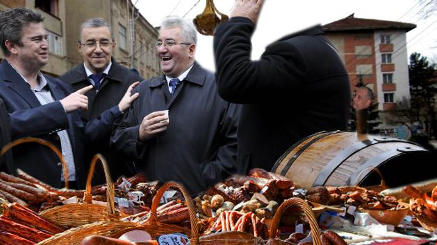 Cătălin Nechifor: Cine-i cel fără cap? Băişanu? Ion Lungu: Nu, e poporul elector...