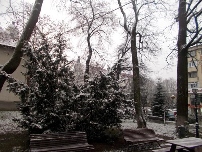 C. J. Suceava e în ceaţă, şliboviţă şi ninsoare; asta e!