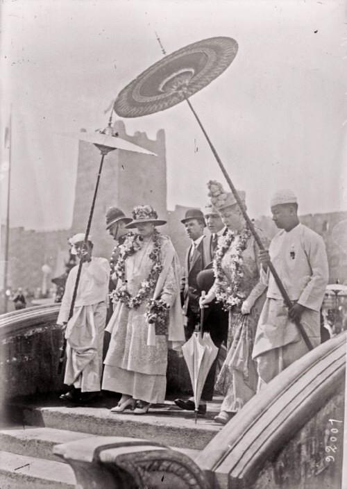 GALLICA: Călătoria suveranilor României la Expoziţia din Wembley, 15 mai 1924