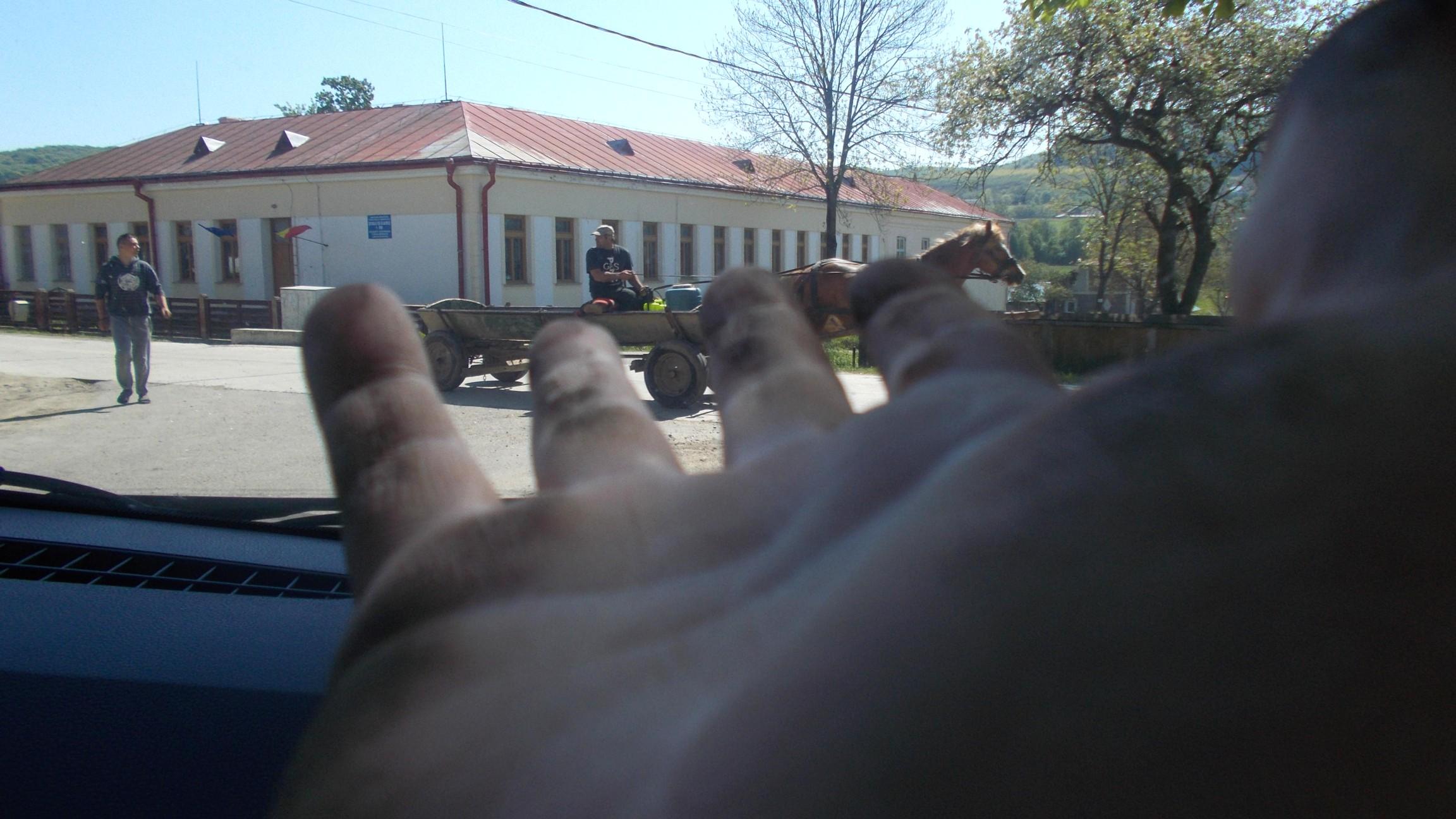 Şcoala, zărită printre degetele mele, mânjite de nepăsarea vremii