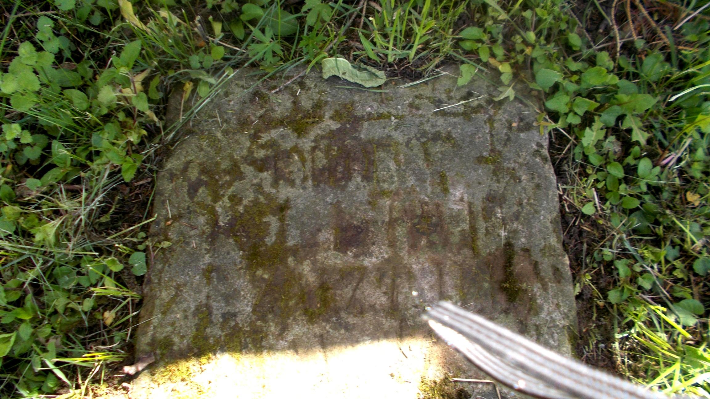 Mormântul care mi-a zdrelit arătătorul
